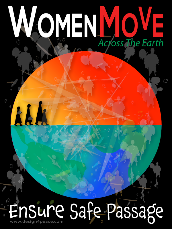 women, migration, women refugees, women migrants